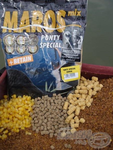 Etetőanyag, granulátumok, kukorica: minden, amit a pontyok szeretnek