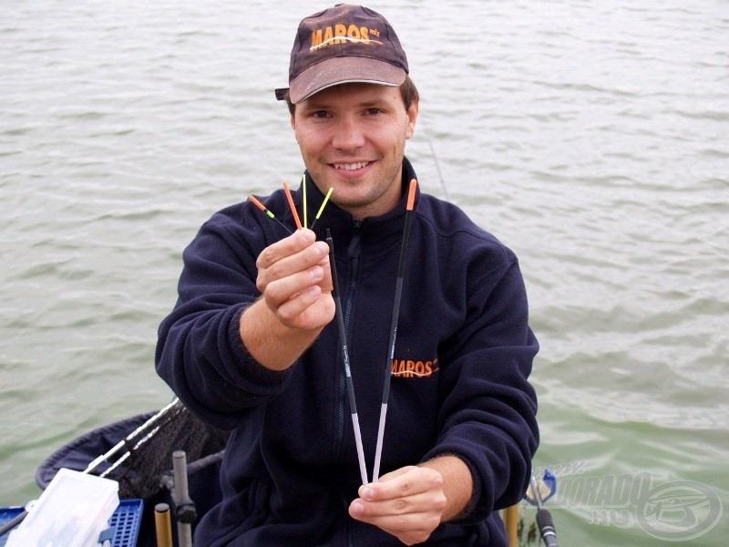 Maros Mix Seria 81 és 80 úszó, tökéletes választás a part menti sekély vizek sikeres meghorgászására