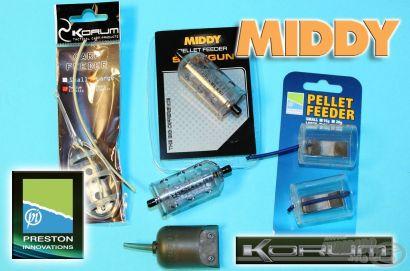 Modern feederkosarak 2. rész - pelletes horgászathoz