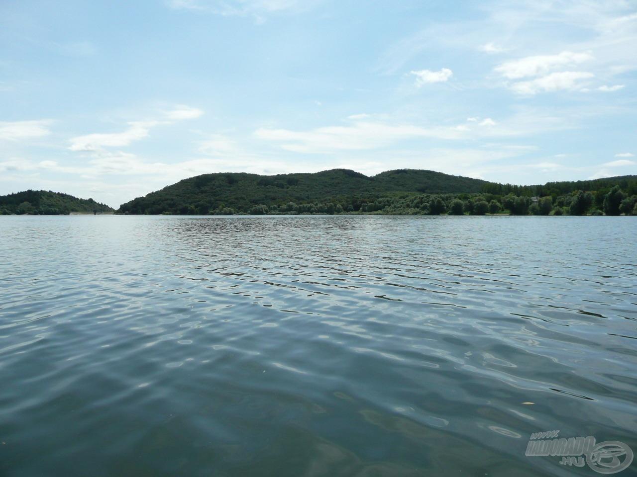 Két közepes méretű tó után…