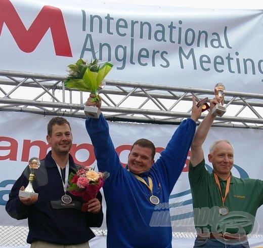 Egyéniben az első helyet Nico Matschulat (Team Mosella) szerezte meg, második lett Raemon Willig (Team Brandenburg), és harmadik Uli Lehmann (Team Brandenburg)
