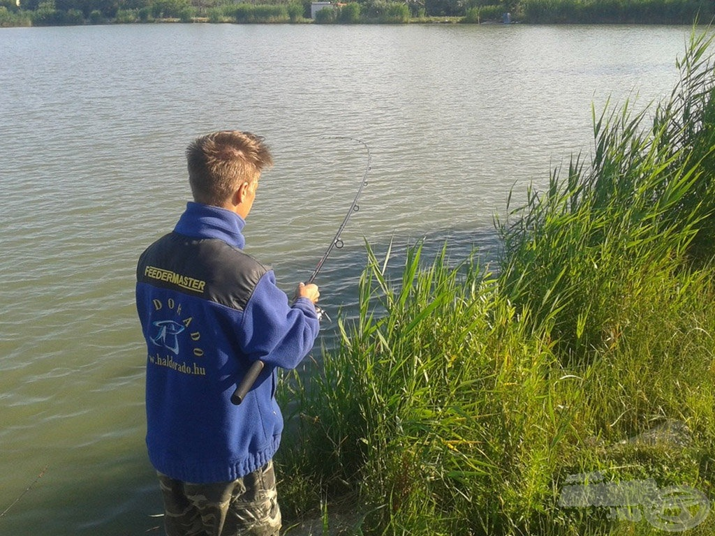 Rendkívül gyors horgászatot tesz lehetővé a soft pellet