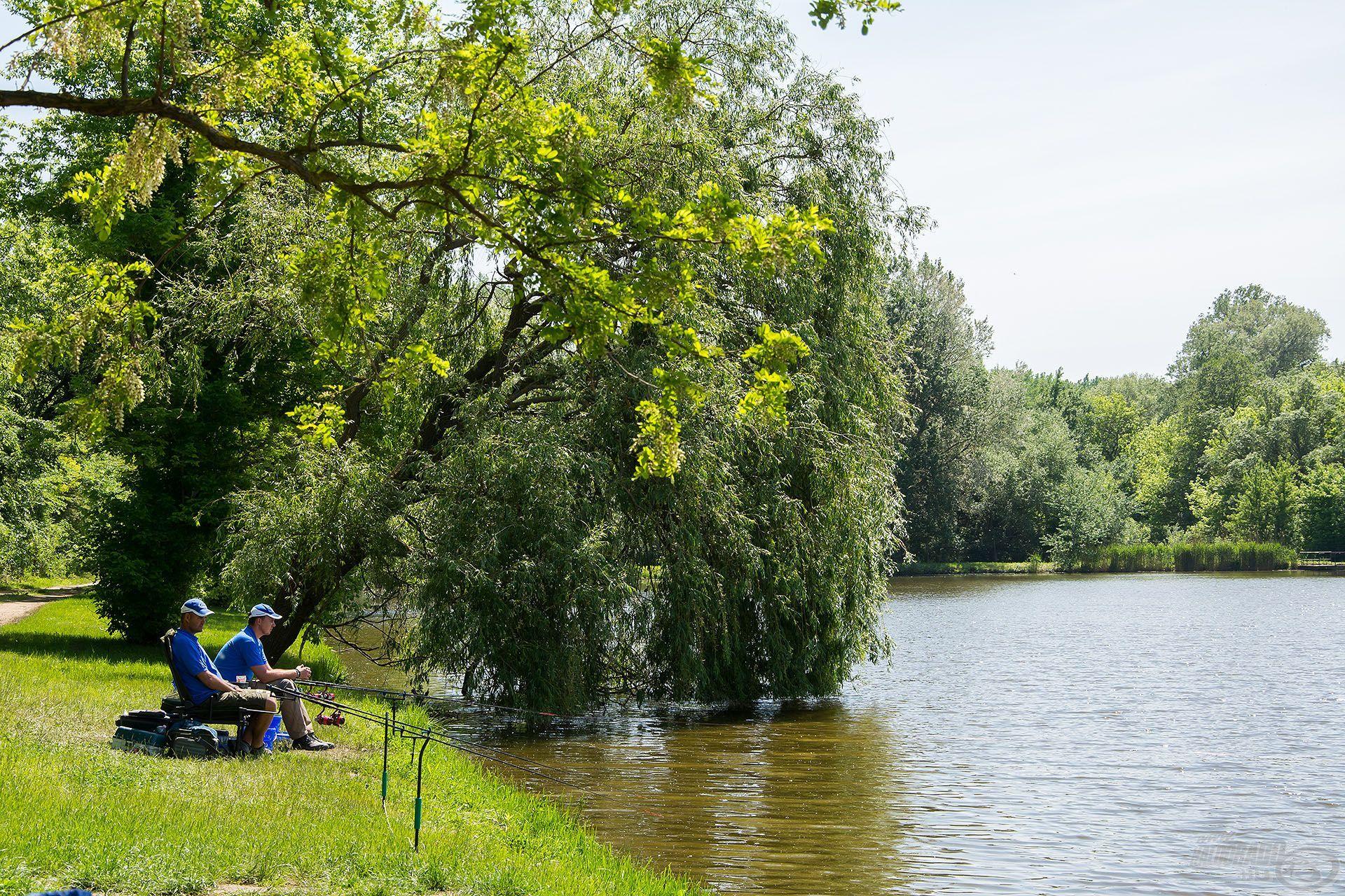 … ami már önmagában élménnyé teszi az itteni horgászatot