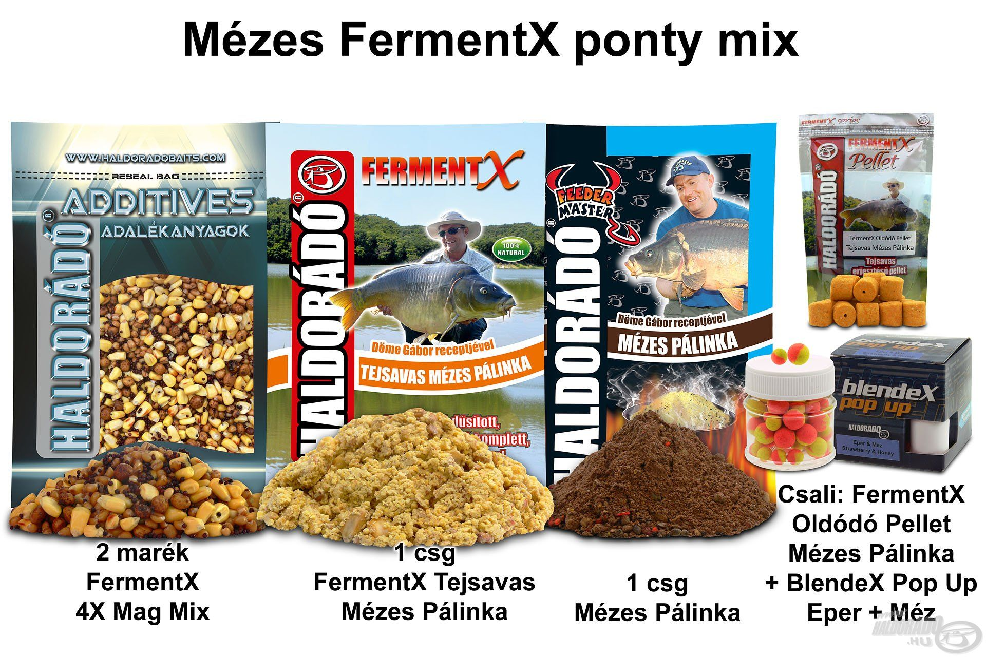 Mézes FermentX ponty mix