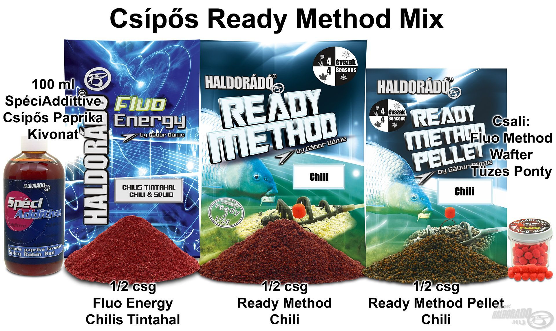 Csípős Ready Method Mix