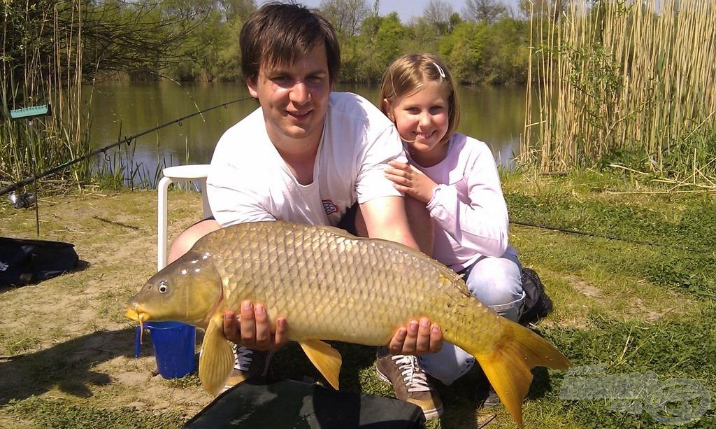 Csodálatos aranyszínben pompázó nyurgaponty, súlya: 6,00 kg
