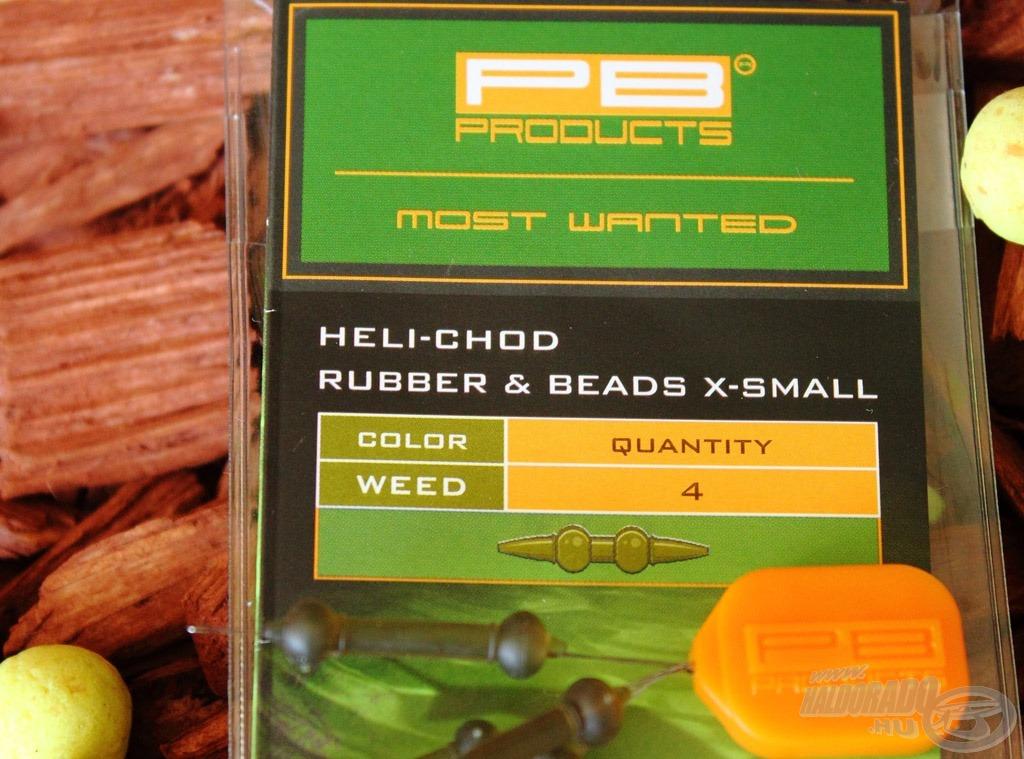 Az X-small változattal 4 darab heli-chod szereléket készíthetünk…