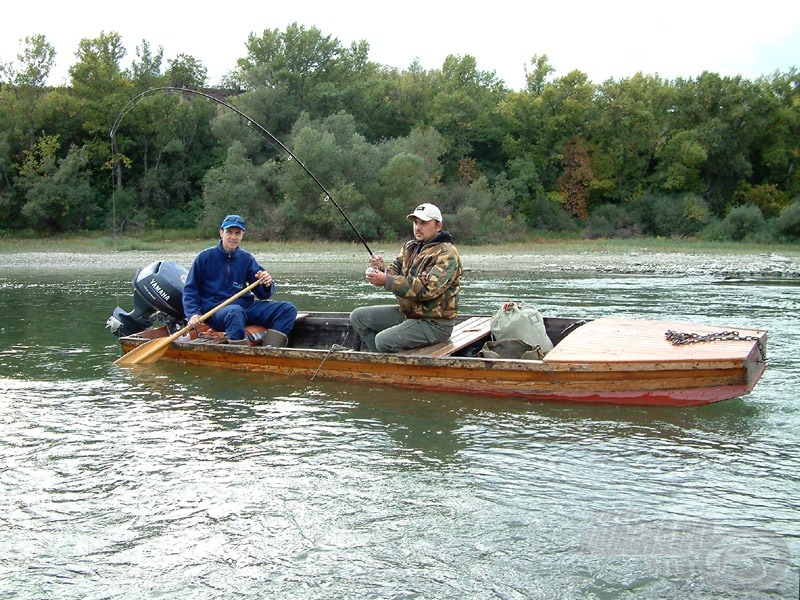 Csónak nélkül, egy kapitális harcsa megfogására 0% az esélyünk!