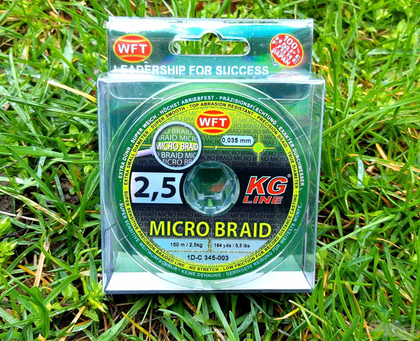 A WFT MICRO BRAID legvékonyabb tagja új fejezeteket nyit meg az Ultra Light pergetésen belül