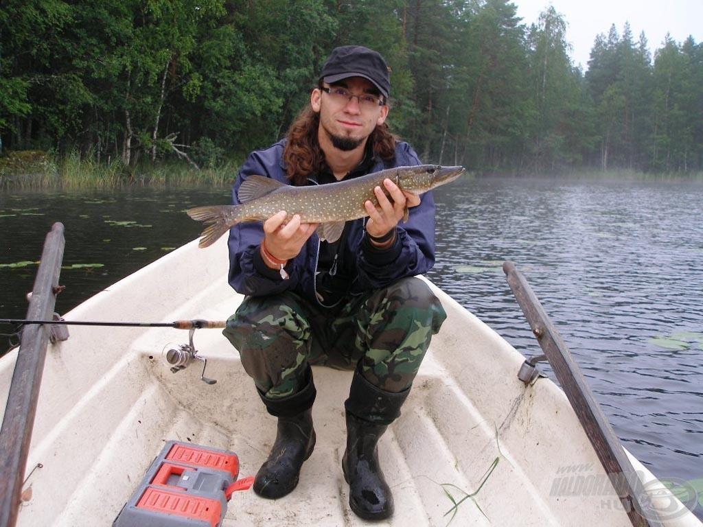 Gyönyörűek és vadak a finn csukák