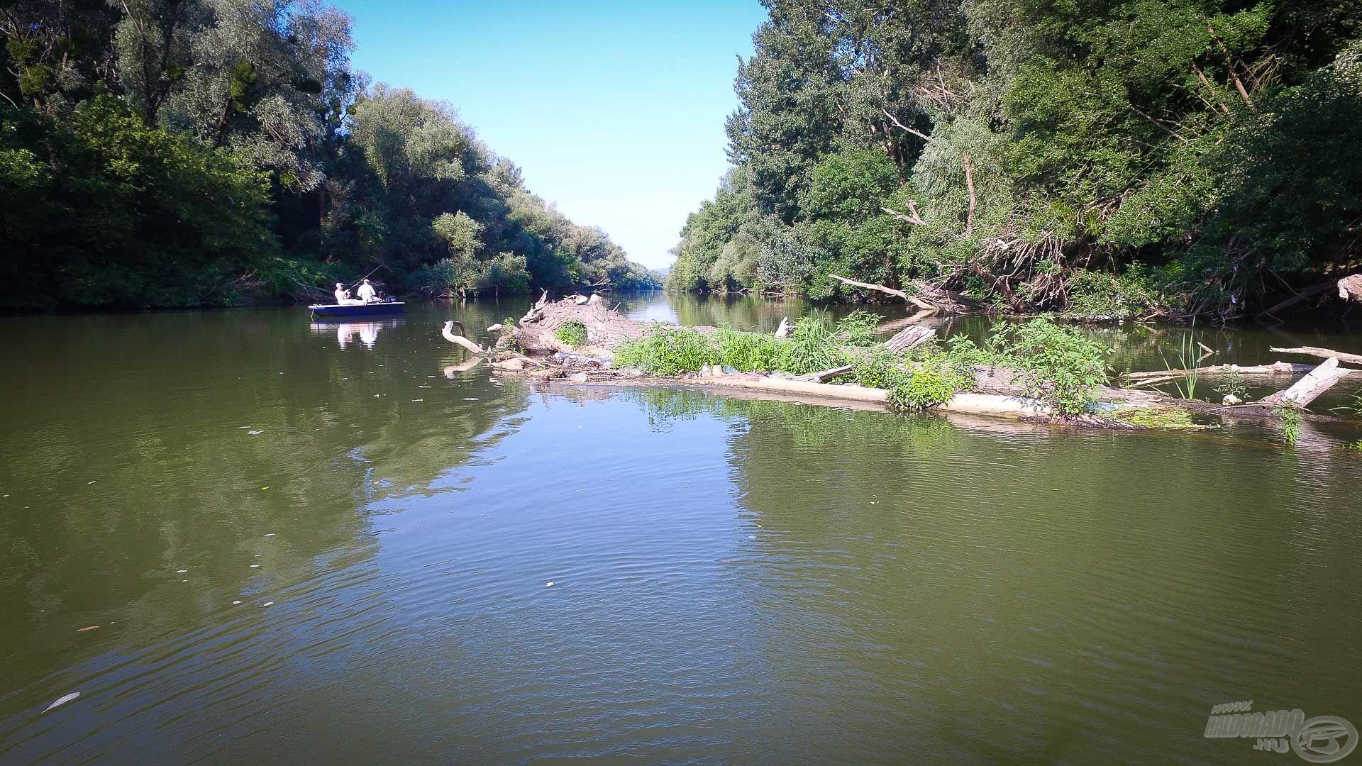 Az ilyen területek ideálisak erre a fajta horgászatra