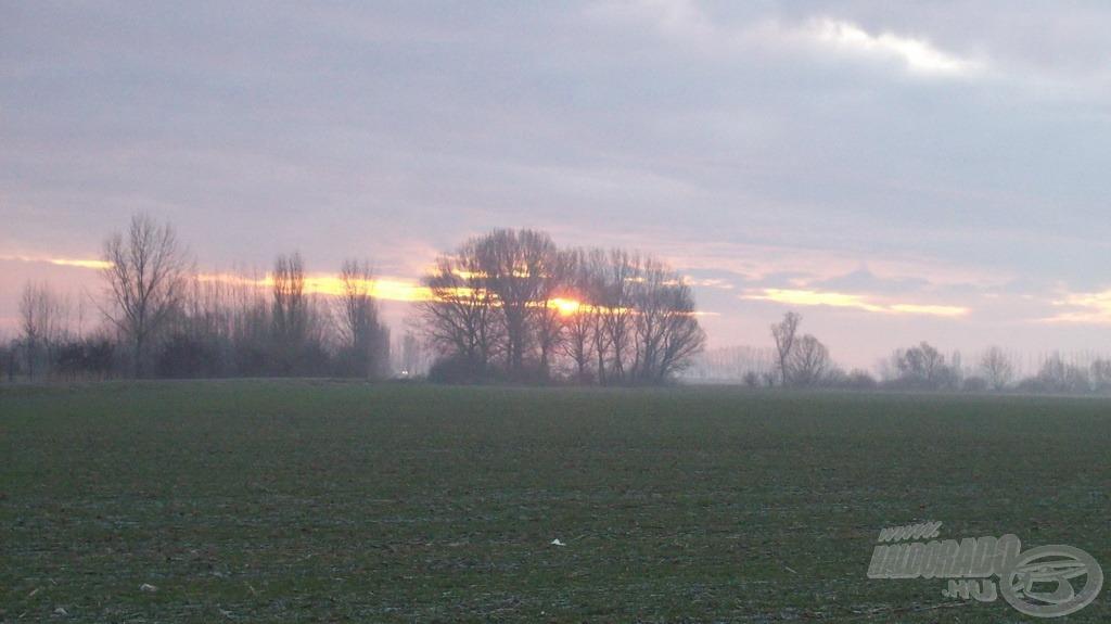 Minden évszakban gyönyörű a napfelkelte