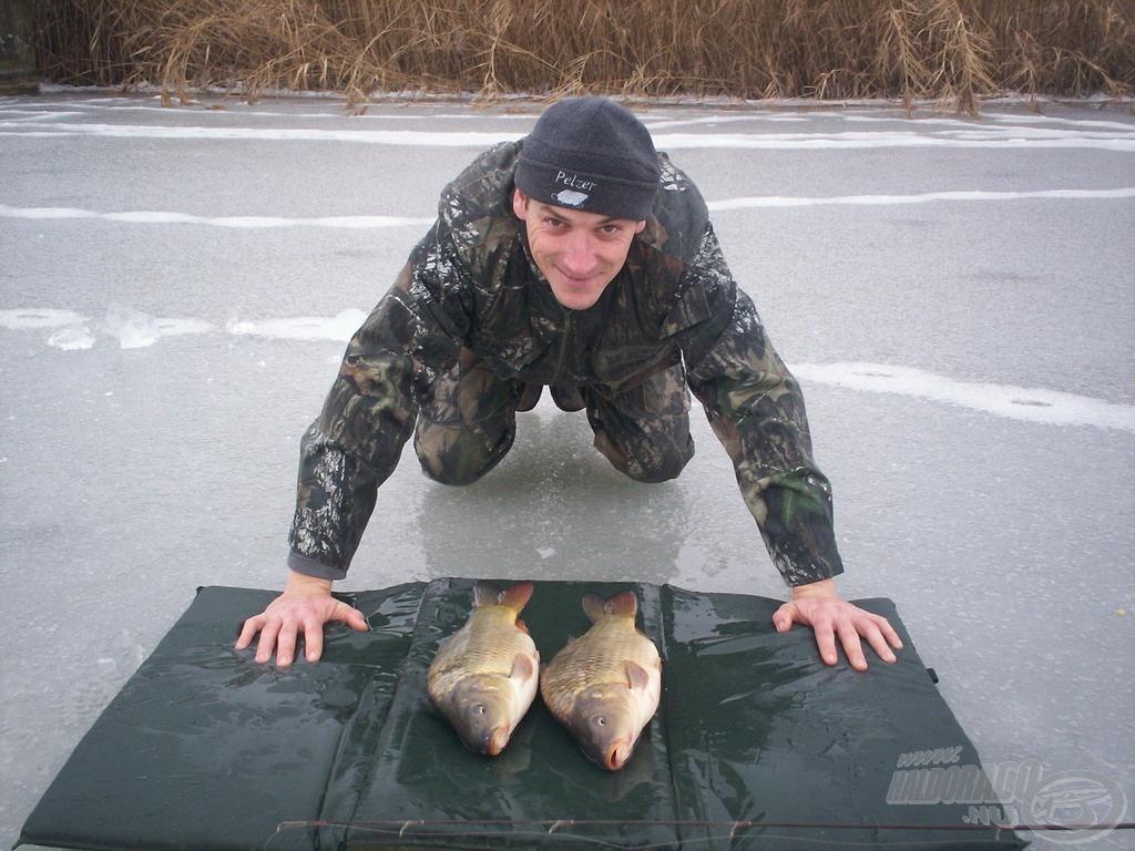 Nagy a horgász öröme