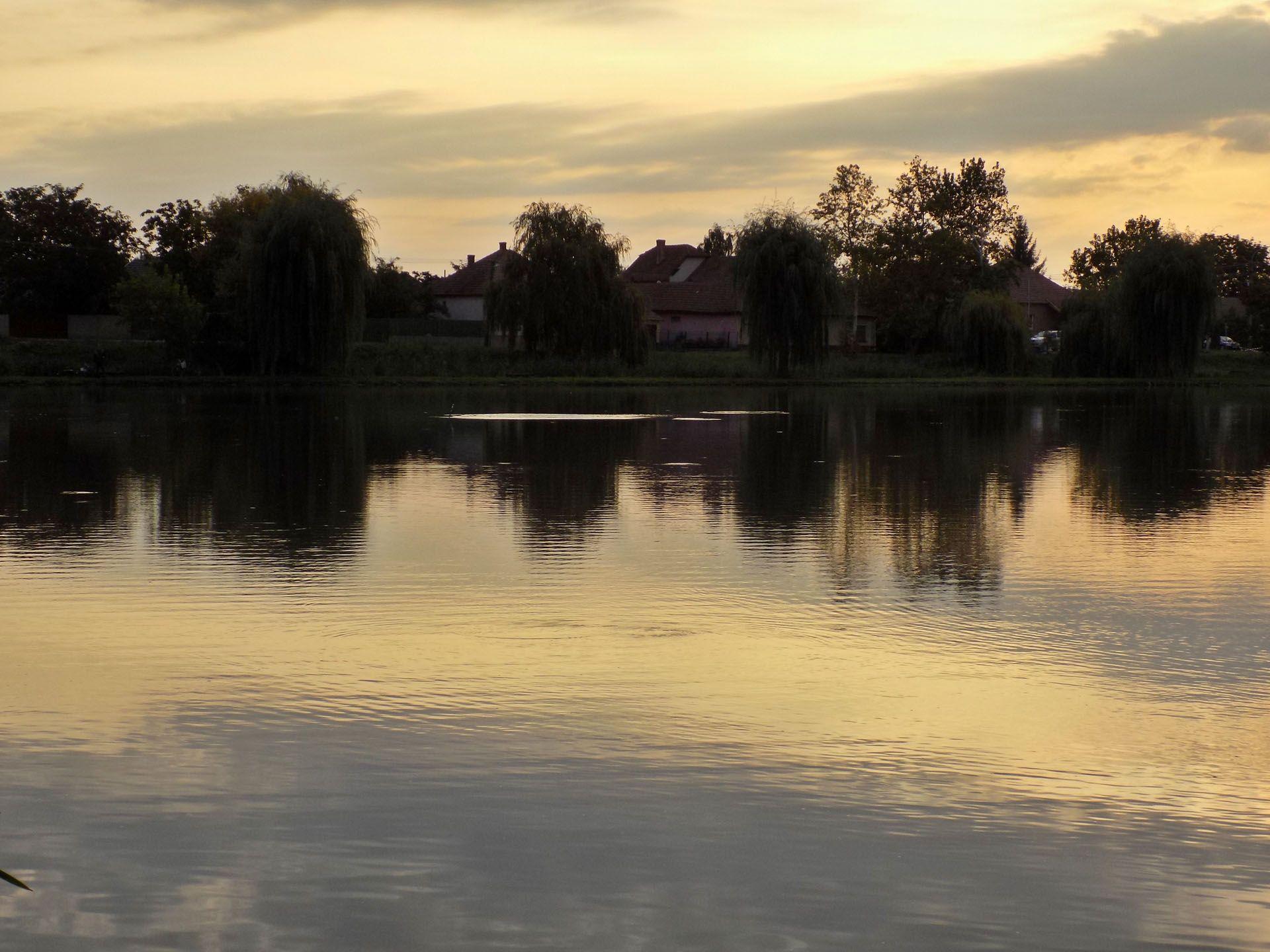 Kipakolás közben egyre gyakrabban lettem figyelmes a tó középső részén elhelyezkedő bóják körüli halmozgásra, ez máris remek támpontnak bizonyult, hova is csobbanjanak az első dobásaim