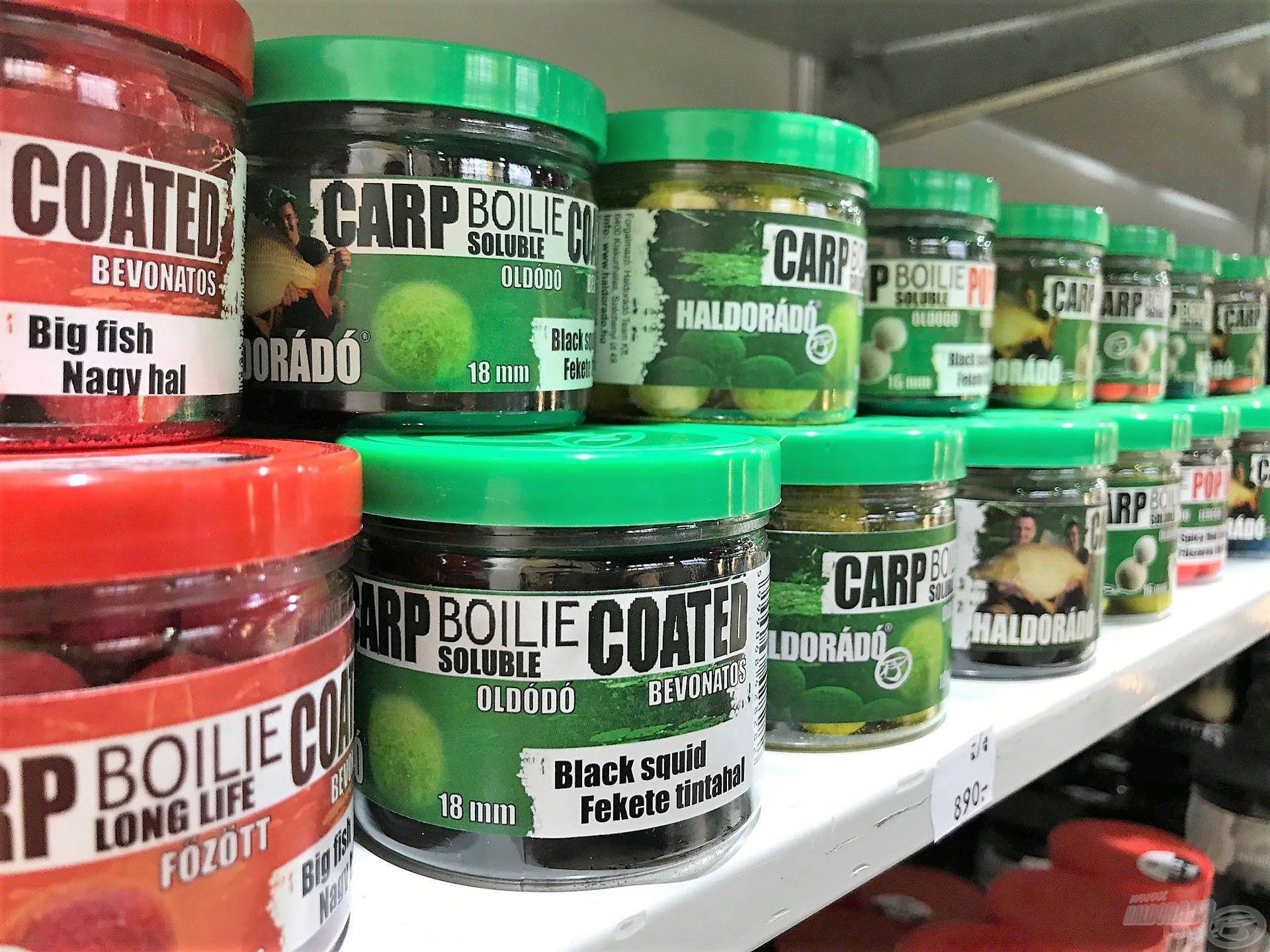 Standunkon természetesen a bojlis, nagyhalas termékeink is megtalálhatóak voltak