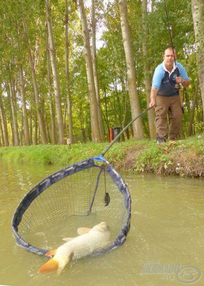 Pörgős horgászat finom felszereléssel