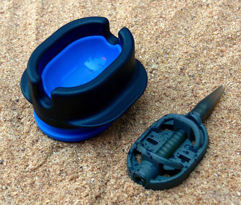 A Dura Flat Method kosarat a már jól ismert Preston töltőszerszámmal lehet tölteni