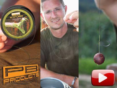 Professzionális PB Products bojlis végszerelékek VI. – Skinless – Curved KD Hook