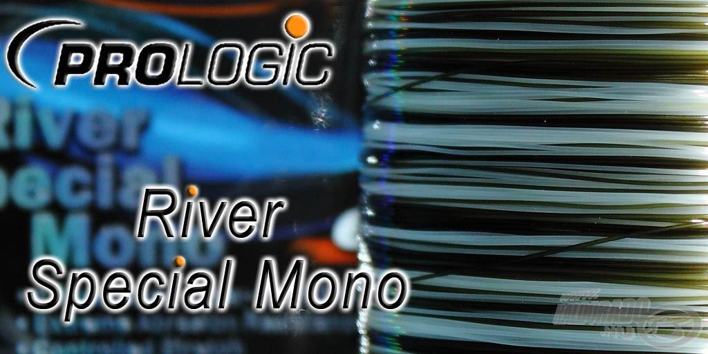 A River Special Mono víztiszta és olívzöld színvilágú zsinór