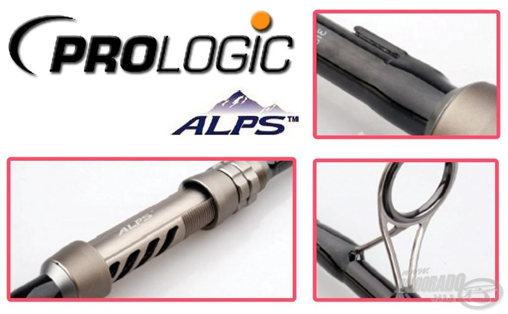 Az ALPS orsótartó, a prémium kategóriás SiC gyűrűk egytől egyig a csúcskategória ismérvei