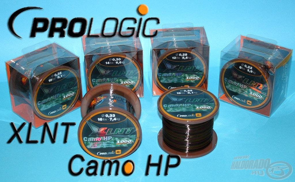 Dobáshoz, de behúzáshoz is kiváló főzsinór az XLNT Camo HP