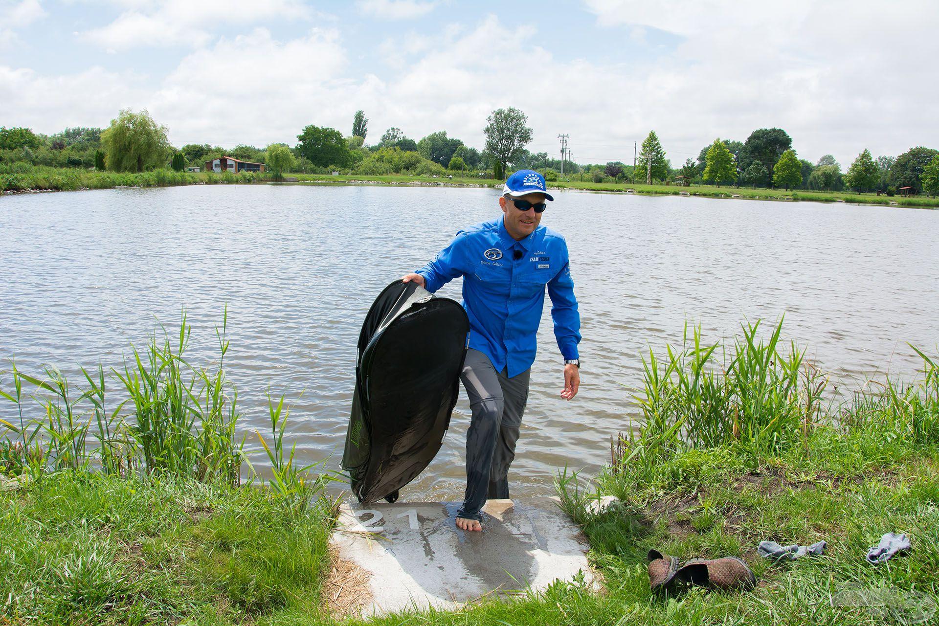 A munka elvégezve, mehetünk haza…! Ja, még csak most kezdődik a horgászat?!