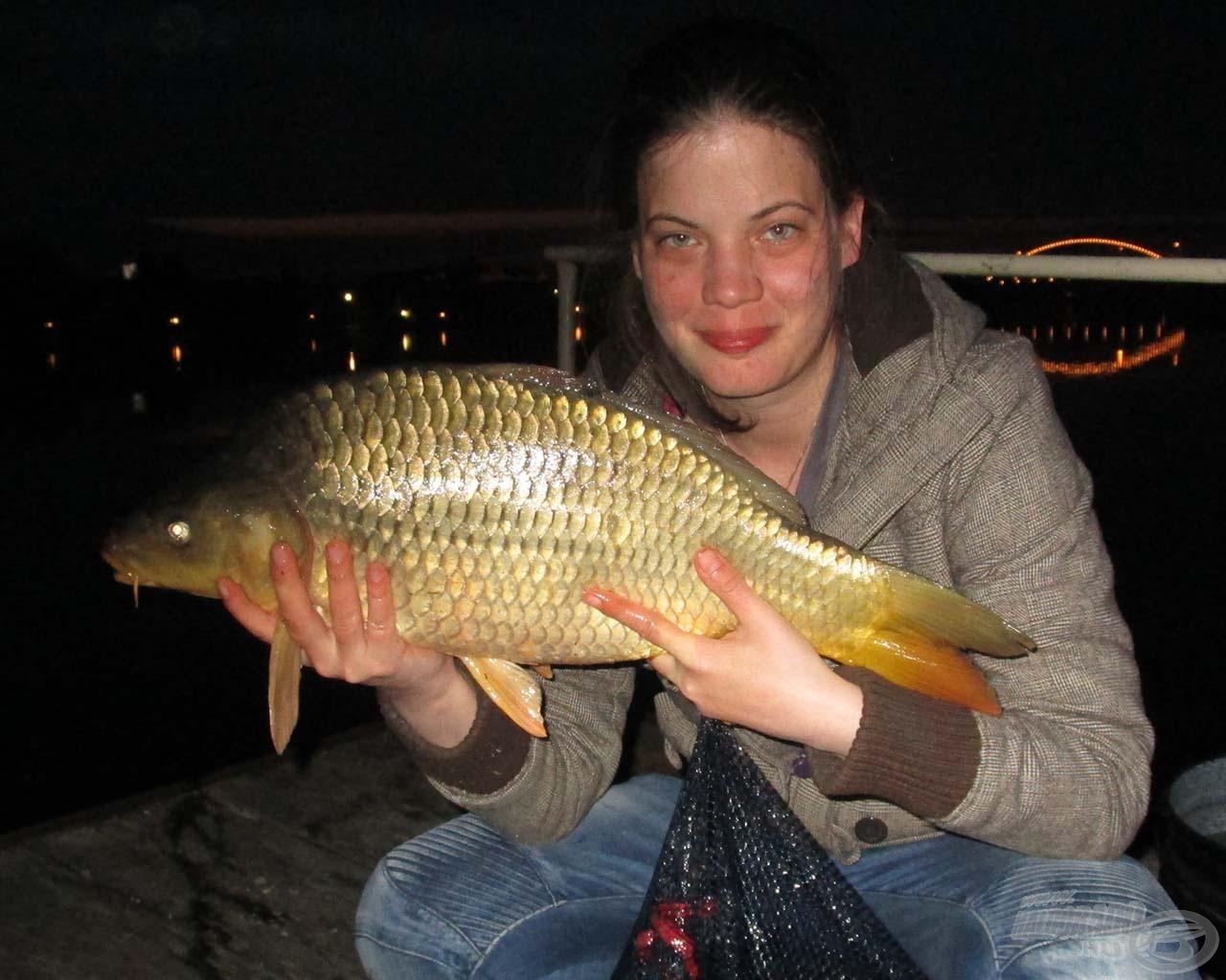 Az este fénypontja volt ez a 4,8 kilós hal