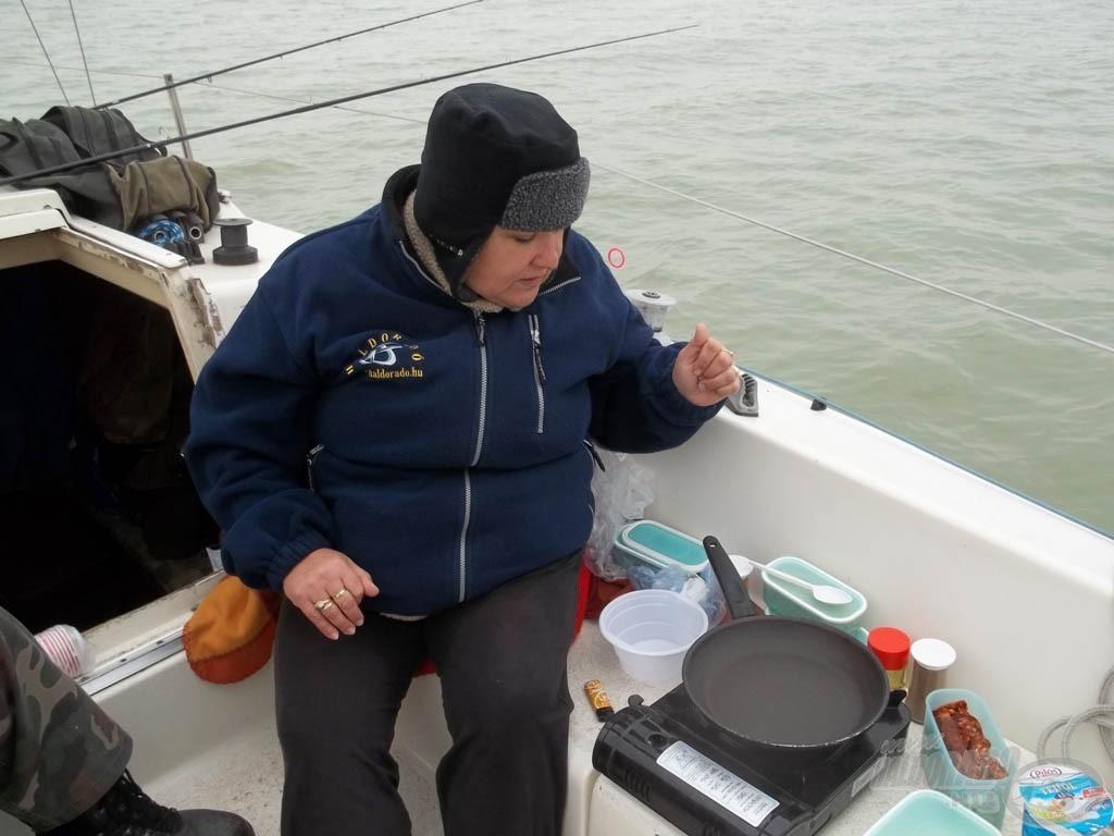 A hajószakács(nő) munkában