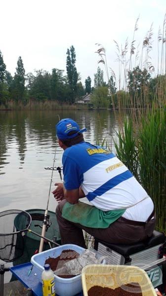 A bot spicce legyen magasan, ha folyóvízen horgászunk