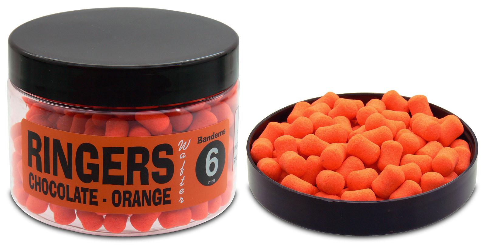A Ringers termékskála egyik zászlóshajója a csoki-narancs wafter, mely elérhető 6 mm-es pellet…
