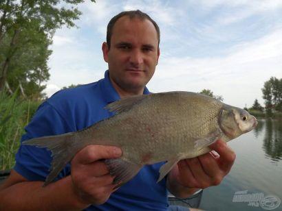 Rybyéra versenypraktikák - A dévér horgászata