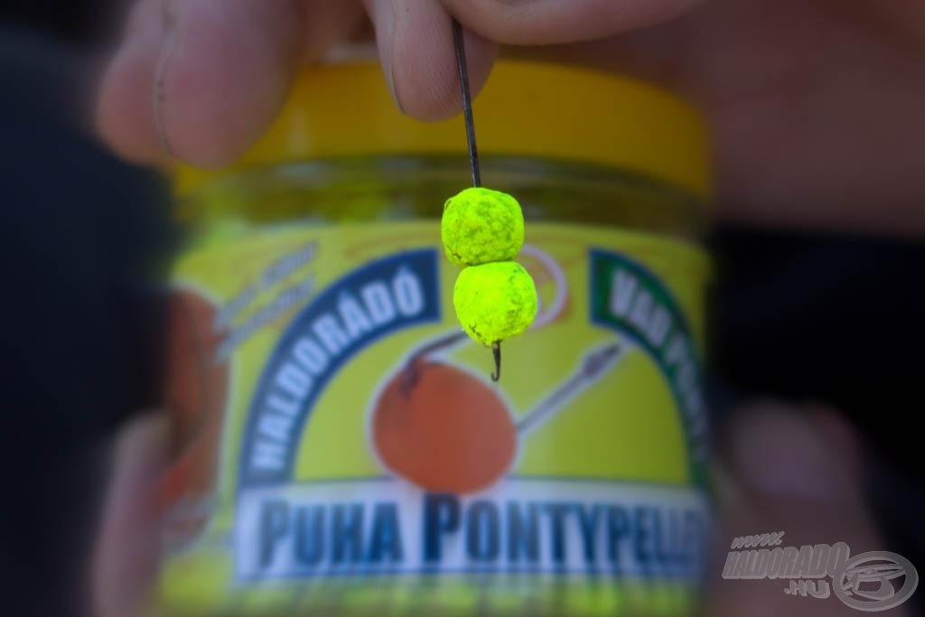 … jusson eszünkbe a sárga színű csali!