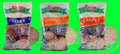 Sensas 3000 Club etetőanyag család tagjai jelenleg a legkedvezőbb árú Sensas keverékek