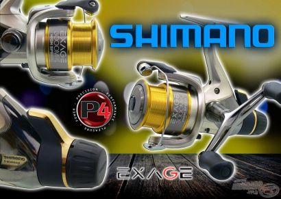 Shimano Exage 3000 HS MRC harcifékes orsó a finom módszerekhez