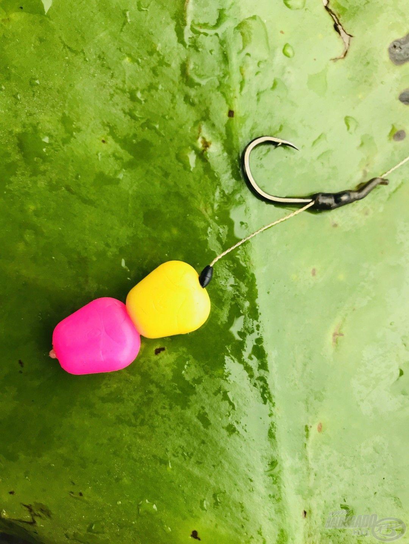 Az eltérő színű csalizás adta a legtöbb kapást a horgásztúra folyamán