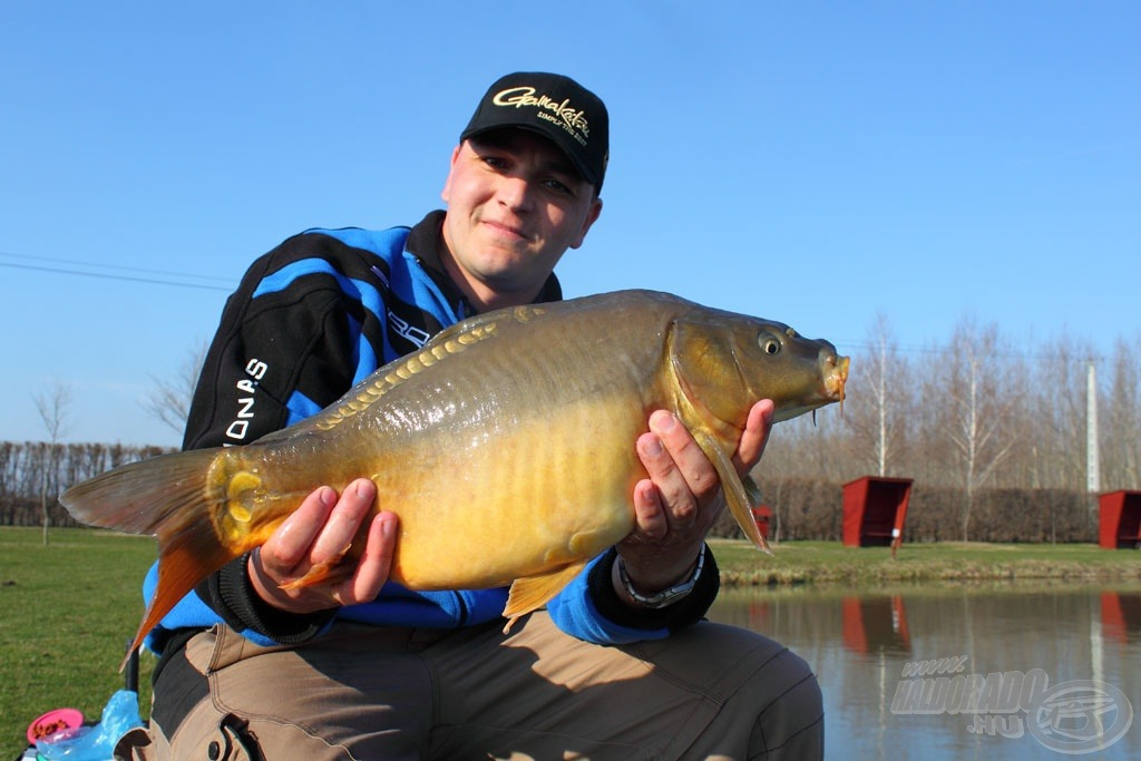 A nap legnagyobb hala csaknem 3 kg-ot nyomott!