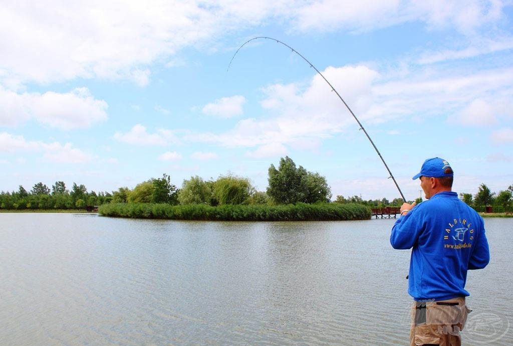 A horgászat megkezdése után 29 perccel megvolt a második pontykapás