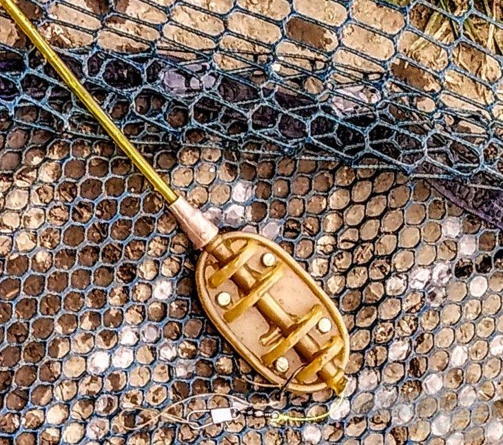 A mai napon method feeder horgászatot folytattam, így ennek a kosárnak jutott a főszerep