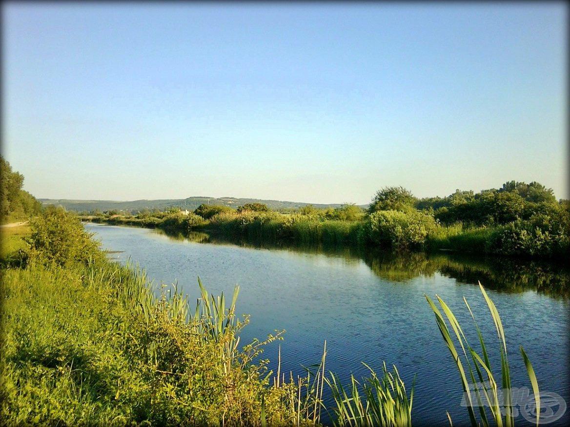 A környezet magáért beszél - a Zsitva-csatorna