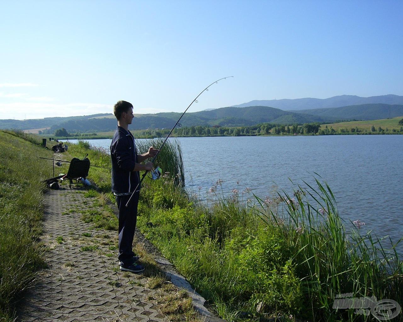 Ha van helyünk, jobb a halat elvezetni horgászhelyünkről