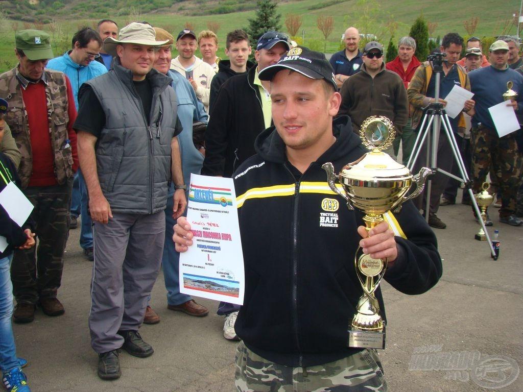 Feeder/fenekező bajnok: Kovács Péter