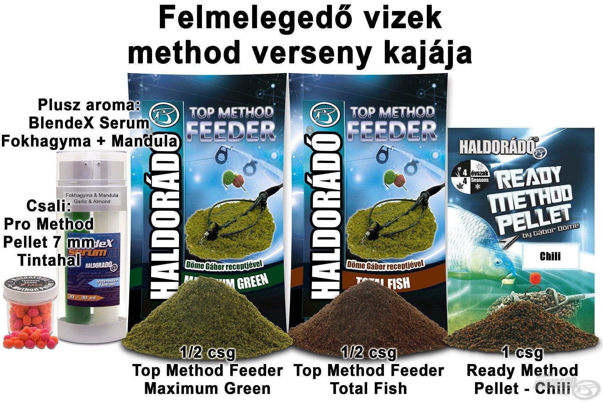 Felmelegedő vizek method verseny kajája