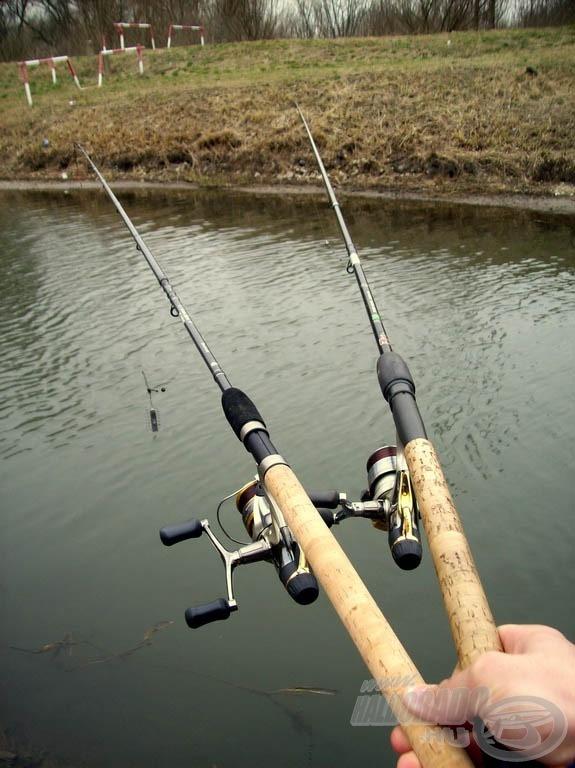 Finom felszereléssel vettem üldözőbe a halakat
