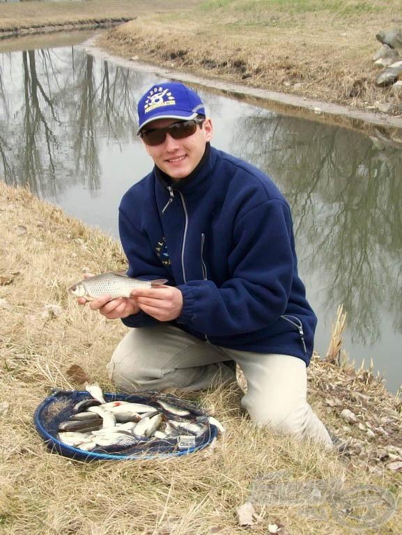 Mozgalmas kora tavaszi horgászat volt, télfelejtésre tökéletes kikapcsolódás