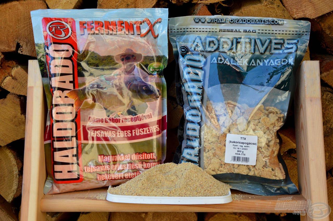 A FermentX Tejsavas Édes Fűszeres egy kevés TTX-szel igazán harmonikus mix, amelyért rajonganak az amurok a melegedő vizekben