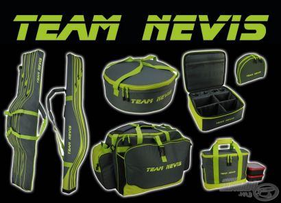 Team Nevis táskák - Kiváló minőség, megfizethető áron a rendszerető horgászoknak