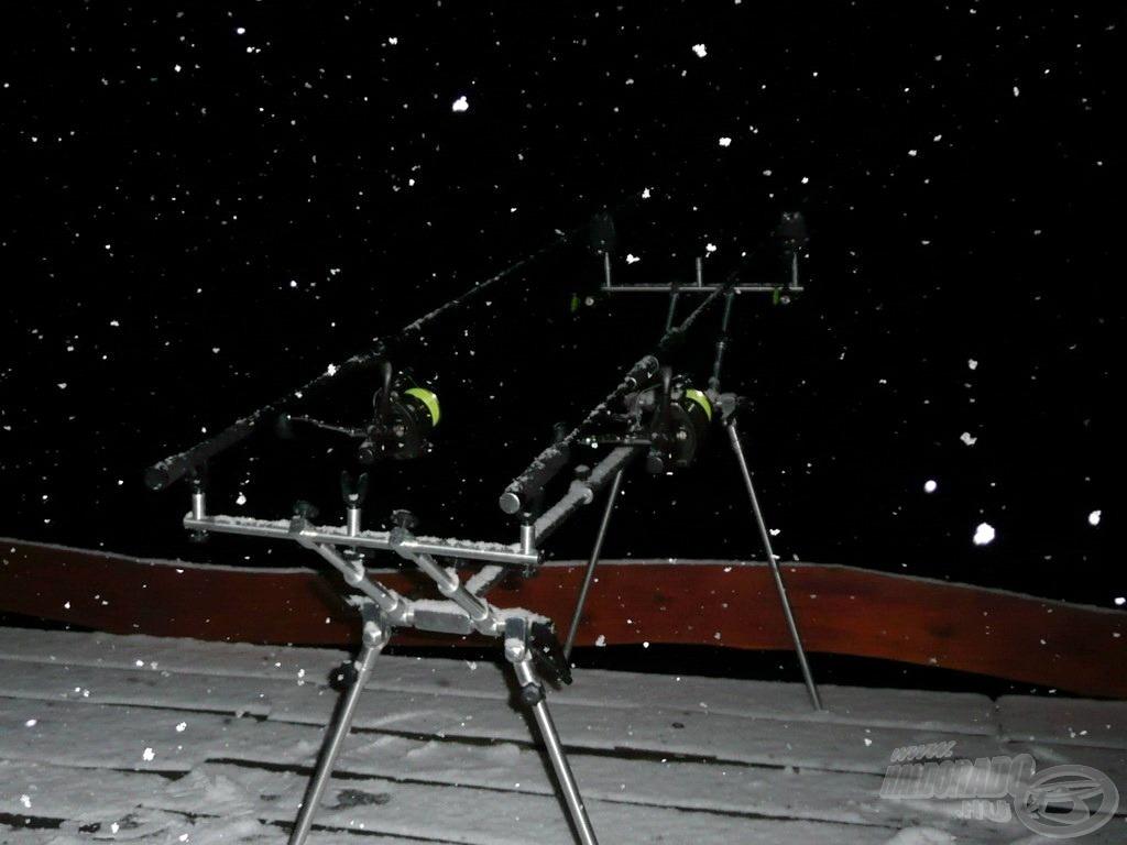 Télen, éjszaka, szakadó hóesésben! Ezt már csak a legelvetemültebbeknek ajánlom!