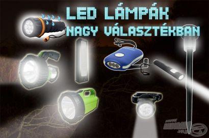Új LED lámpák a Haldorádó választékában