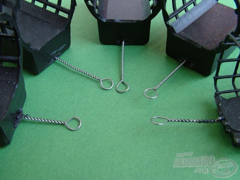 Minden Maros Mix Elit Feederkosár akasztófüle rugalmas, rozsdamentes acélból készül
