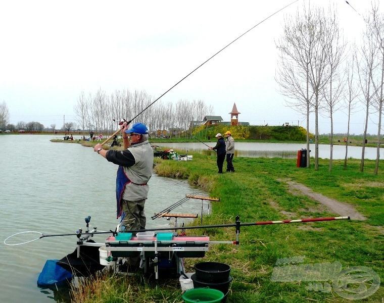 A nagyobb távolságra történő úszós horgászat is csak kárászt adott